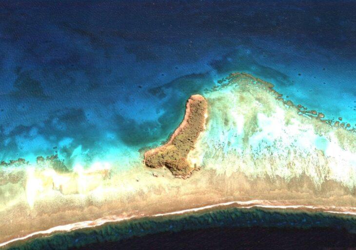 Google Earth : une île en forme de pénis découverte dans l'océan Pacifique