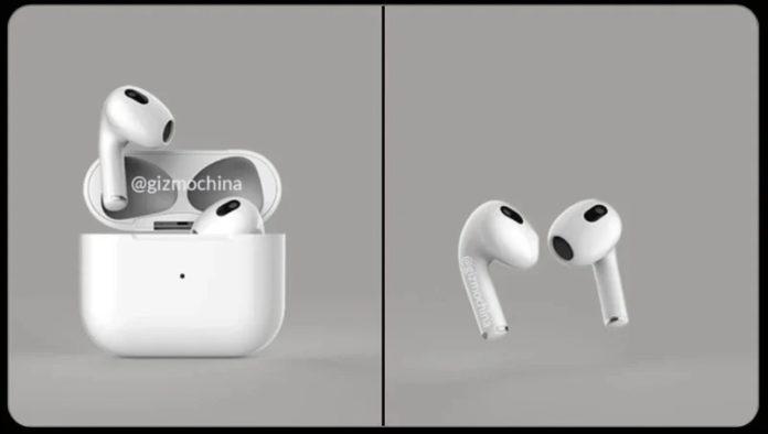 AirPods 3 :  de nouveaux rendus des futurs écouteurs d'Apple
