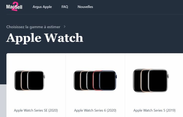 Mac2Sell propose la 1re cote de référence des Apple Watch