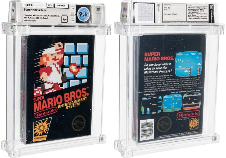 Super Mario Bros vendu 660.000 dollars, un record !