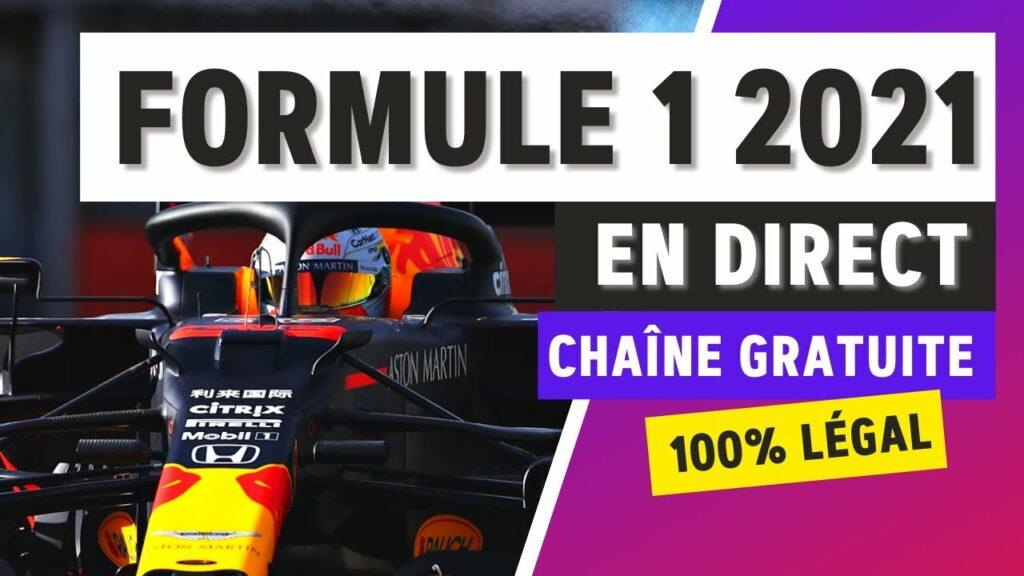 Où regarder la Formule 1 2021 en streaming ?