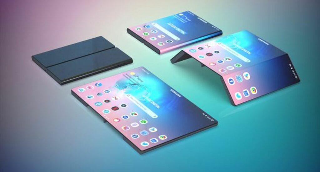 Samsung commercialiserait en 2022 une tablette pliable en trois