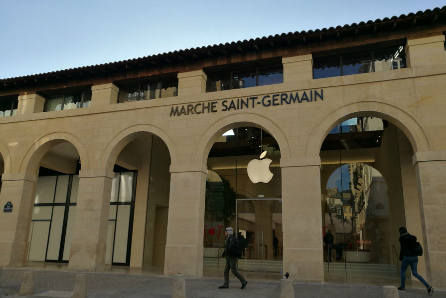 Covid-19 : les 20 Apple Stores de nouveau fermés en France