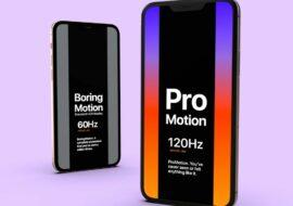 iPhone 13 Pro : écran ProMotion 120 Hz, consommation d'énergie réduite de 20% ?