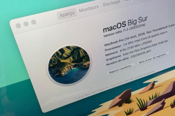 macOS 11.3 est disponible : la liste des nouveautés