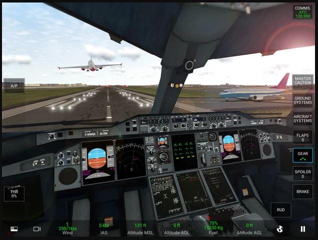 Jeu du jour : RFS – Real Flight Simulator (iPhone & iPad – 0,99€)