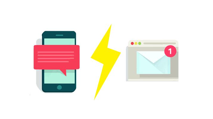Les SMS sont-ils plus sûrs que les emails ?