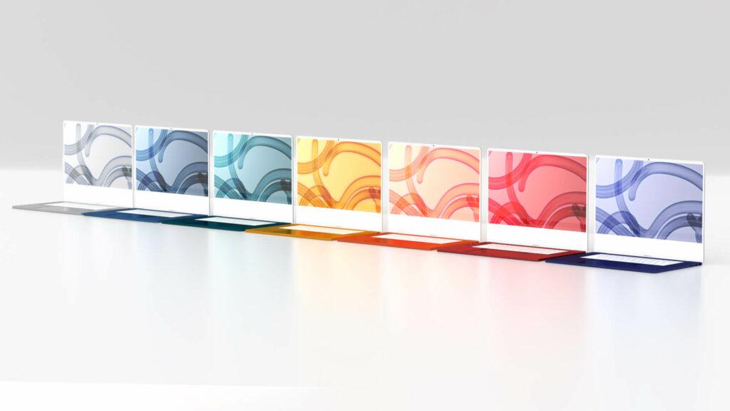 MacBook Air 2021 : des couleurs similaires à celles du dernier iMac ?