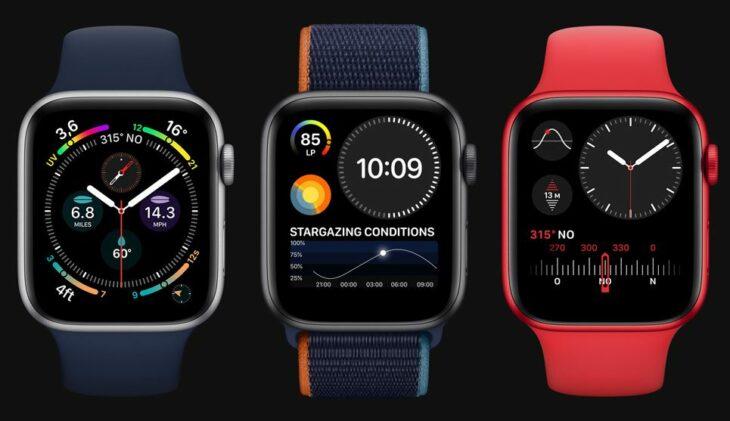 L'Apple Watch Series 7 dotée d'une puce S7 double face plus petite ?