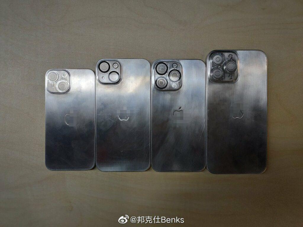 iPhone 13 : des photos des supposés châssis partagés sur Weibo