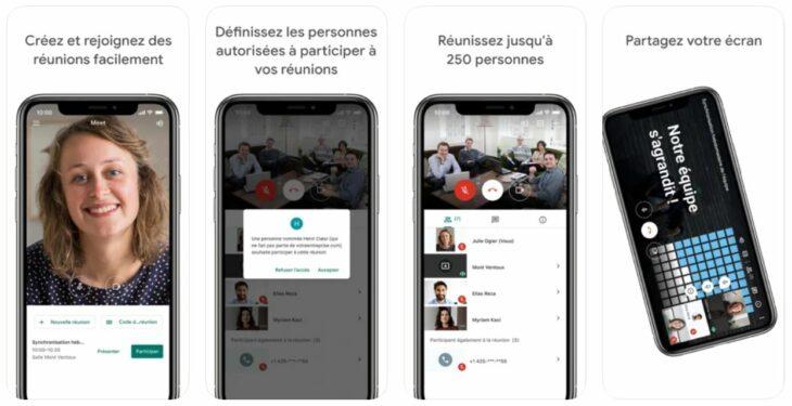 Google Meet : nouveaux filtres, masques et effets sur iOS