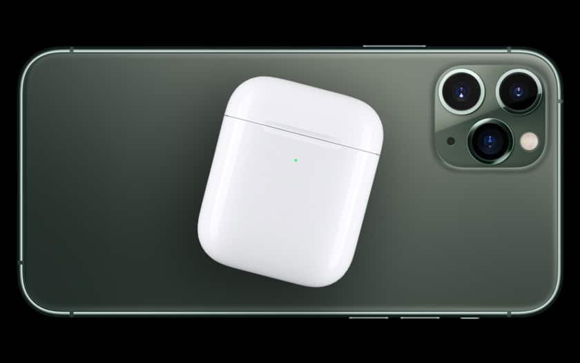La recharge sans fil inversée sur l'iPhone 13 ?
