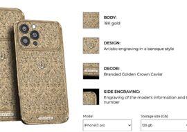 iPhone 13 de luxe : Caviar lance les précommandes
