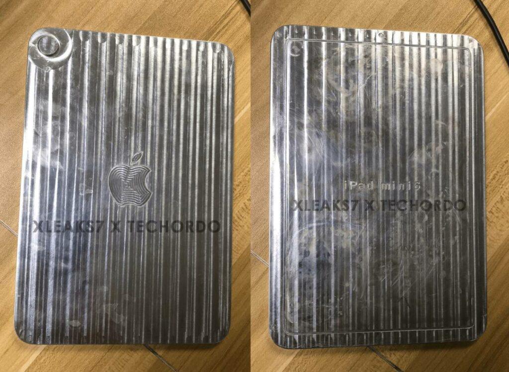 iPad Mini 6 2021 : des moules en aluminium dévoilent son design