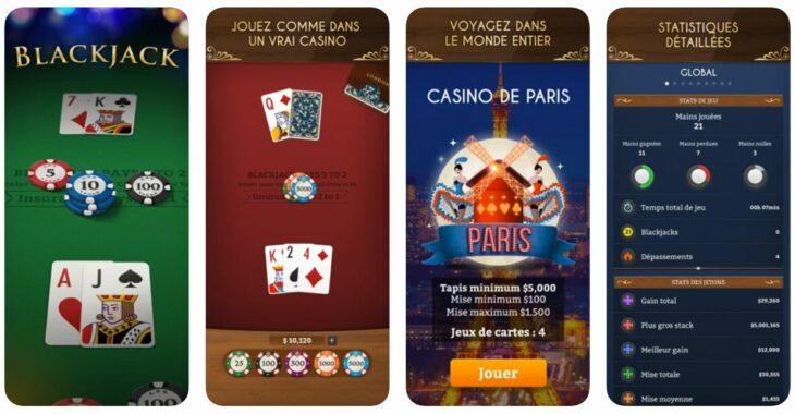 Jeu du jour : Blackjack, jouez dans un vrai casino !