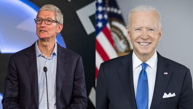 Tim Cook participera à une réunion sur la cybersécurité avec Joe Biden