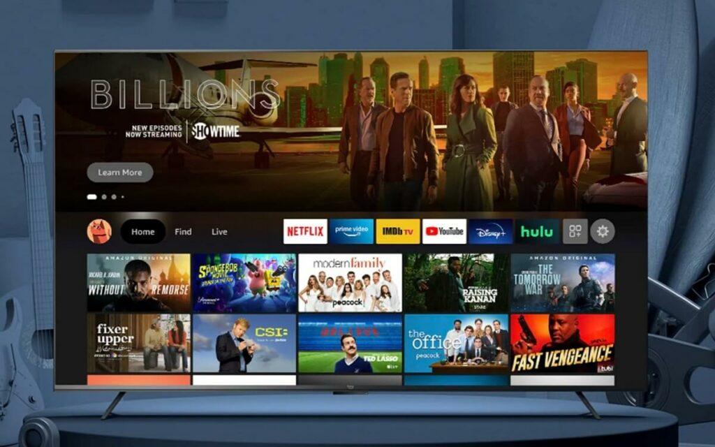 Amazon dévoile sa propre gamme de téléviseurs