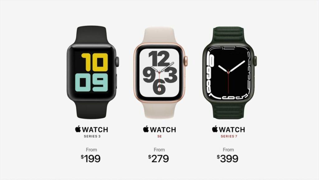 Apple Watch Series 7 : les caractéristiques de la nouvelle montre connectée