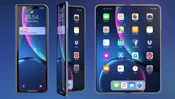 Deux modèles d'iPhone pliables pour 2023 ?