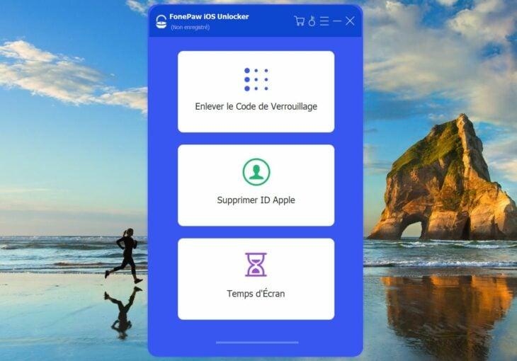 FonePaw iOS Unlocker : déverrouiller un iPhone/iPad sans code d'accès