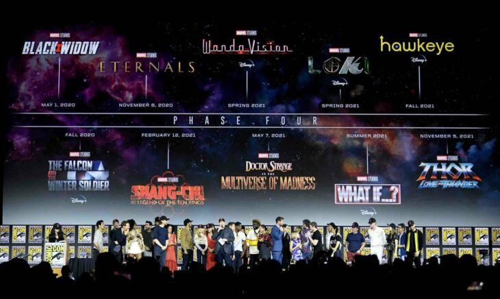 Gigantesque report des films Marvel, Thor 4 et Doctor Strange concernés
