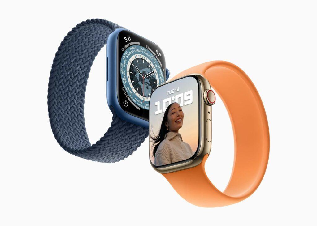 Apple Watch Series 7 : précommandes le 8 octobre, sortie le 15 octobre