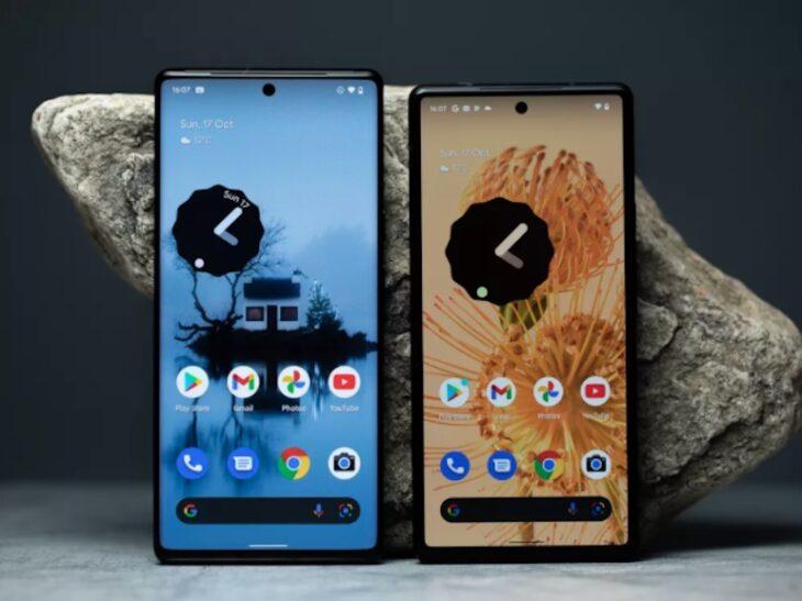 Google lance ses Pixel 6 & Pixel 6 Pro
